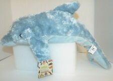 "Wild and Wonderful 20"" Dolphin Floppies NWT Blue Stuffed Plush"