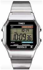 Relojes de pulsera unisex digitales de cuero