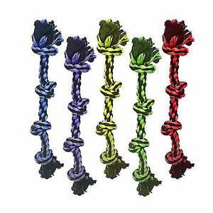 Multipet Nuts for Knots Long 4 Knot Rope Dog Toy