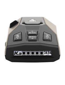 Cobra RAD450 Long Range Radar Detector / Laser Detector with False Alert - NIB!!