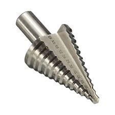 5-35 mm 13 pasos Chapado Cono HSS Drill Bit Herramientas de vástago Hexagonal Titanio Cortador del agujero