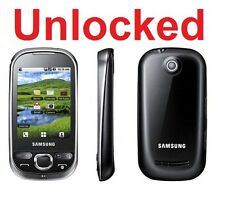"Samsung Galaxy 5 I5503T Black 2.8"" Screen 2MP Camera Android v2.1 Java + Bonus"