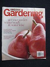 Organic Gardening Magazine - Living Lightly From the Ground up - December 2010..