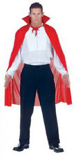 "Dracula Vampire 38"" Red Cape Adult Halloween Costume Fancy Dress 29463"