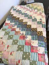 Beautiful vintage mini block quilt