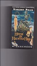 HOUSE ON HAUNTED HILL Widescreen Edition VHS Vincent Price  NEW/SEALED!