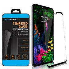 MagicGuardz® Full Cover Tempered Glass Screen Protector Guard For LG G8 ThinQ