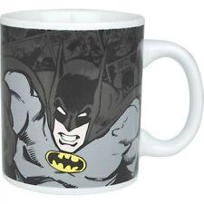 NEW DC COMICS BATMAN BLACK PUNCH COMIC STRIP TEA COFFEE MUG CUP NEW & GIFT BOXED