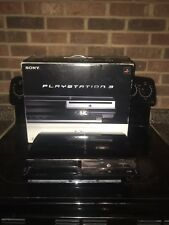 60GB BACKWARDS COMPATIBLE PS3 WITH BOX AND FEW GAMES