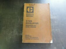 Caterpillar CAT 572G Pipelayer Parts Book Manual