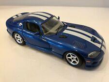 Burago Dodge Viper GTS Coupe Die Cast Car 1:24