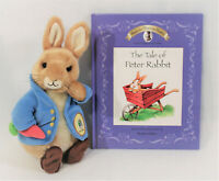 Beatrix Potter Peter Rabbit Plush Stuffed Animal Picture Book Easter Gift