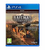 Railway Empire For PS4 (New & Sealed)