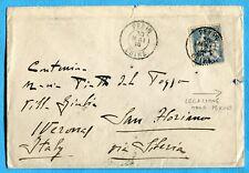 GUARDIA LEGAZIONE D'ITALIA - PECHINO intestazione a stampa al verso   (269758)
