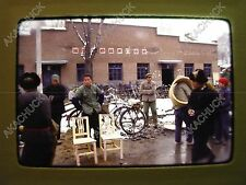 39 Vintage 35mm Slide PEOPLE'S REPUBLIC OF CHINA 1979 People Street Excavation D