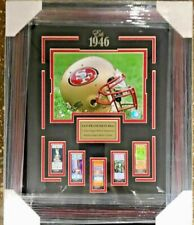 San Francisco 49ers Replica Super Bowl Ticket Framed Collage  20x24 SIZE