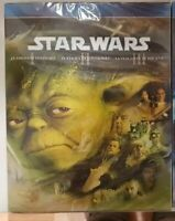Star Wars Bluray trilogia Cap. I,II,III.Nuevo,español