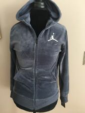 Nwts Boys Youth Large L Nike Jordan Jumpman Full Zip Hooded Sweater Light Carbon