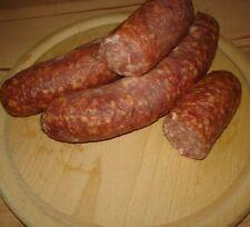 Knoblauchsalami geräuchert 1/3 Rind 2/3 Schwein - TOP Qualität  5 St.= ca 1kg -