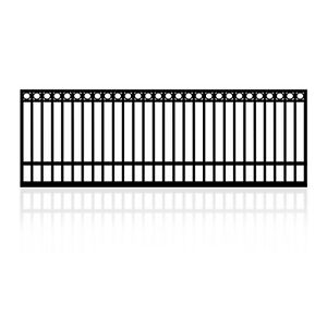 3m Single Gate for Sliding or Swing Dual Purpose with Top Rings