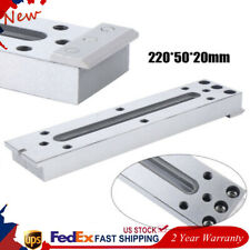 Wire Edm M8 Stainless Board Fasten Fixture Jig Tool 220x50x20mm Clamping Level