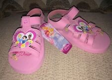 Little Girls Size Small Pink DISNEY Fairy Princess Shoes Sandals NEW w/Tag
