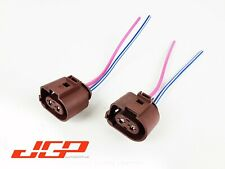 2X Audi A6 C6 Rear Electric Parking Brake Motor Connector Wire Harness 1J0973752