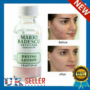 Mario Badescu Drying Lotion 29ml In Glass Bottle For Acne Prone Skin UK STOCK