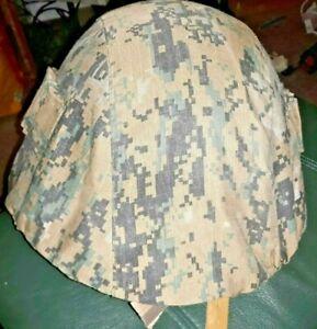 helmet COVER Digital USMC camo Russian SSH-40 SSH-68  soviet Military war