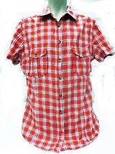 H&M Herrenhemd Kragenweite 39/40 Karierte Mehrfarbig Kurzarm