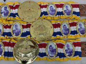 Sylvester Stallone, Carl Weathers, Mr. T & Dolph ROCKY BALBOA Championship Belt