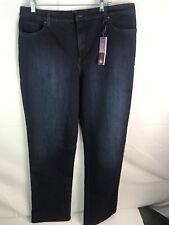 8f1fb051ed0 Gloria Vanderbilt Ladies  Amanda Denim Jeans – DARK BLUE- 18 Short