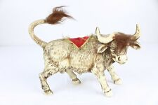 Spanish Fighting Bull Standing 7 in Decoration Plastic