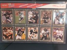 CHICAGO BEARS TRADING CARDS 1990 ACTION PACKED PREMIERE NATIONAL SERIES TEAM NFL