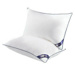 BedStory Set of 2 Pillows Hotel Hypoallergenic and Soft Top-end Microfiber Cool