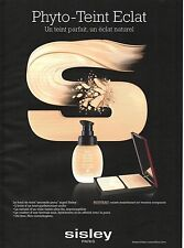 Publicité Advertising 2010 sisley phyto-teint eclat
