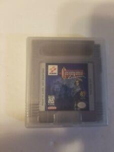 Castlevania Legends (Nintendo Game Boy, 1998) Authentic *Original* Clean*