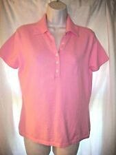 Lilly Pulitzer Size S Womens PINK  Short Sleeve  Knit POLO Top SHIRT