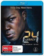 24 - Legacy SEASON 1 (Blu-ray, 3-Disc Set) NEW