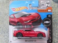 Hot Wheels Camaro Fifty Collection 2017 Camaro Zl1 Car in Red