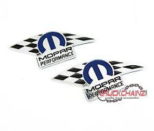 2 NEW PAIR SET 10-16 Challenger Charger 300 New Mopar Performance Emblem Badges
