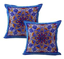 Us Seller-decorative cushion covers 2pcs talavera Mexican Spanish cushion cover