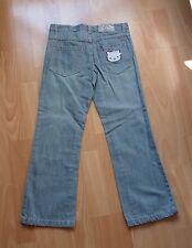 Pantalon Fille jean HELLO KITTY Original - taille 8 ans -NEUF AVEC ETIQUETTE