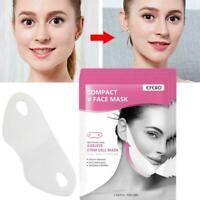V Shape Lifting Facial Mask Face Slim Chin Check Neck Lift  Peel-off Mask V Y8Y1
