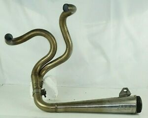 Buell Exhaust S1 M2 S2 ? xb ?  supertrapp performance exhaust system 2 into 1