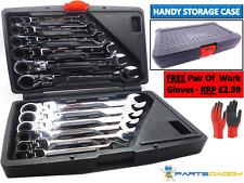 12 pièce combinaison flexible de serrage à cliquet outil set 8-19mm (2-5)