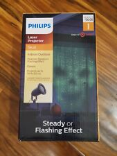 NEW Halloween Philips Skull Green Laser Projector Indoor/Outdoor Home Decor