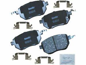 Front Brake Pad Set 5QQS76 for Altima Maxima Murano 2003 2004 2005 2006 2007