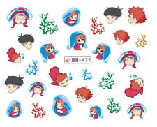 Nail Art Decals Transfers Stickers Cartoon Children (DB477)