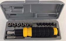 *RACHET NEW in Box Screwdriver Nutdriver w/extension Standard & Metric Sizes